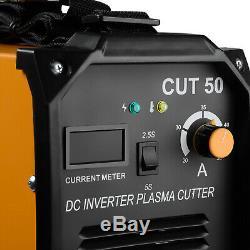 Plasma Cutter CUT50 Digital Inverter 220V Dual Voltage Cut Machine Orange
