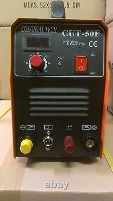 Plasma Cutter Pilot Arc Inverter 50AMP 220V Voltage Cutting Machine CUT50F NEW