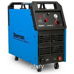 Plasma cutter Cutting machine up to 45mm SHERMAN 130 Handheld torch 400V 3PH