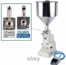 Pneumatic Liquid Paste Filling Machine Filling Bottler For cosmetics body wash