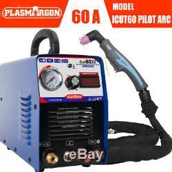 Portable 60A Non-Touch Pilot Arc IGBT Air Plasma Cutter Machine CNC Metal Work