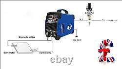 Quality Plasma Cutter, CUT50 50 Amp 220V Dual Voltage AC DC IGBT Cutting Machine