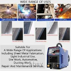 SUSEMSE Air Plasma Cutting Machine 60A 220V Cutter Machine with Screen Display