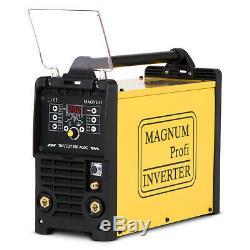 TIG AC/DC MMA Plasma cutter Welder Welding machine 3 in 1 MAGNUM THF 240 200 AMP
