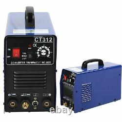 TIG/MMA/CUT Welding Machine Air Plasma Cutter WithNozzle Tig Electrode Accessories