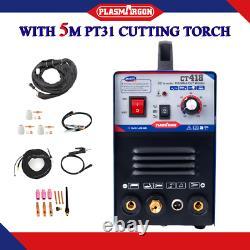 TIG/MMA/CUT Welding Machine CT418 Argon Welder Plasma Cutter & 5m Cut torch Pt31