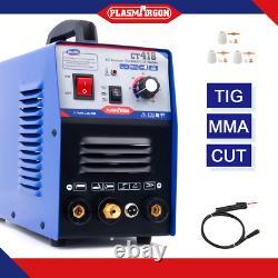 TIG MMA Cut Plasma Cutter Welder Inverter Stick Welding Machine 3in1 CT312 IN DE
