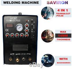 TIG/MMA/PULSE Stick Welder IGBT Inverter Plasma Cutter 110/220V Welding Machine