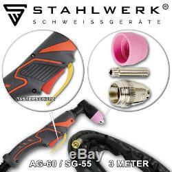 TIG Welder STAHLWERK CT 550ST with PLASMA CUTTER IGBT Inverter Welding Machine
