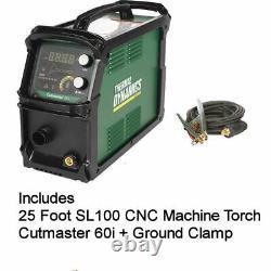 Thermal Dynamics 1-5631-1 Cutmaster 60i Plasma Cutter + SL100 CNC Machine Torch