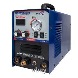 Tig/MMA/CUT 520TSC Plasma Cutter Welder Machine Display Combo Welding Machine