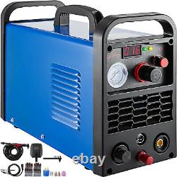 VEVOR 50A Air Plasma Cutter Cutting Machine Non-touch Pilot Arc Inverter Voltage