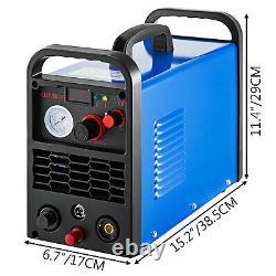 VEVOR 50A Air Plasma Cutter Cutting Machine Non-touch Pilot Cutter Inverter 220V