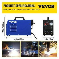 VEVOR CUT-50 50Amp Air Plasma Cutter Inverter WithDigital Plasma Cutting Machine