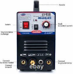 Welding Machine Plasma Cutter 30A TIG/MMA Welder 120A 3 in 1 Combo HF 2021