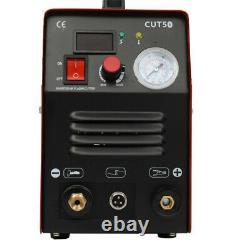 110.00v Cut50 Cutter Plasma Super Chaud Machine De Soudage Au Gaz Électrique Rouge