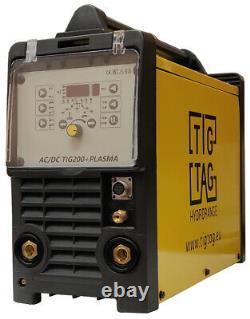 200a Tig Soudeur Machine De Soudage Avec Plasma Tigtag 200a Ac DC