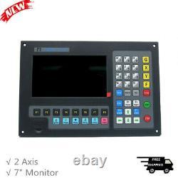 2 Axis Contrôleur Cnc 7 Moniteur Pour Machine De Coupe De Plasma Cutter Laser De Flamme