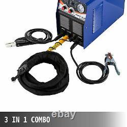 3 En 1 Tig Soudeur Plasma Cutter Ct520d Combo Tig Mma Arc Soudeur Machine À Souder