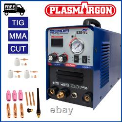 3 In1 Coupeur De Plasma Tig Mma Stick Soudage Machine Display Combo Soudeur Machine