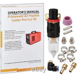 50 Amp Plasma Cutter 1/2 Po. Machine De Coupe 110-volt/220-volt DC
