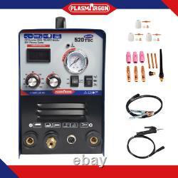 50a Coupeur De Plasma 200a Tig/mma Soudeur 3in1 Machine De Soudage Et Accessoires Pour Diy