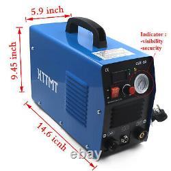 50a Cut-50 Inverter Digital Air Plasma Machine De Cutter 110/220v S'adapte À Toutes Les Torches Coupées