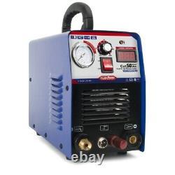 50a Cut-50 Invertisseur Numérique Air Plasma Cutter Machine 110/220v Double Tension