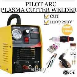 50a Igbt Pilot Arc Cnc Cutter Machine Plasma Contact Cutting Combinaison