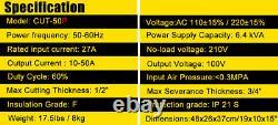 50a Igbt Pilot Arc Machine De Coupe D'air Non-touch Cutter Plasma Cnc Compatible