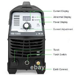 50amp Air Plasma Cutter Cut-50 Igbt Cuting Machine +accessories Bouchon Industriel