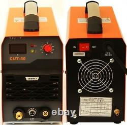 50amp Air Plasma Cutter Cut-50 Igbt Cutting Machine + Accessoires
