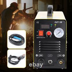 50amp Igbt Air Plasma Cutter Machine, Coupe Propre, Soudeurs Tig À Double Tension 220v