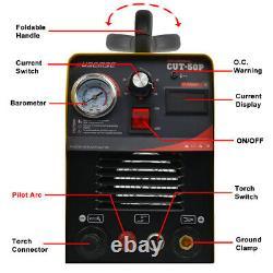 50amp Igbt Cutter Plasma Pilot Arc Machine De Coupe D'air Non-touch Compatible Cnc