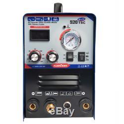 520tsc 3 En 1 Plasma Cutter Memory Stick Tig Arc Soudeur Machine Torches Et Consommables