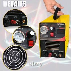 Arc Pilote Cut50 50amp Air Plasma Cutter Hf Inverter Digital Cutting Machine Igbt