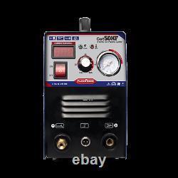 Blue Cut50 Portable Plasma Cutting Machine Hf Air Cut 14mm 50a 240v+consommables
