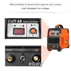 Coupe 40a Igbt Inverter Air Plasma Cutter Hf Hf Ignition Metal Cutting Machine 12mm