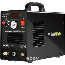 Coupe Plasma De 50 Ampères 1/2 In. Coupe Propre 110-volt/220-volt DC Cut Machine