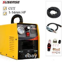 Coupe-plasma 50a Cut50 230v DC Onduleur Air Plasma Cutting Machine &torch &kits