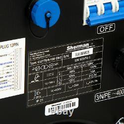 Coupe-plasma Machine À Découper Jusqu'à 45mm Sherman 130 Cnc Torche De Machine 400v 3ph