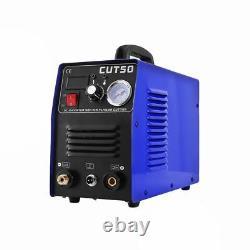 Coupeur Plasma 50amp Double Voltage Onduleur DC Cut Machine 1-12mm Cut Metal