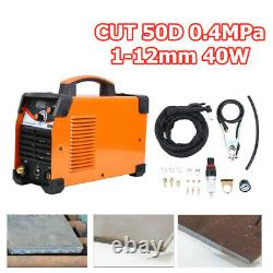 Coupez Plasma 50d 0.4mpa Onduleur Air Plasma Cutting Machine 1-12mm 40w Ip21