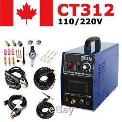 Ct312 3in1 Machine De Soudure Tig / Mma / Plasma Cutter Soudeur & Pt31 Torches Bricolage
