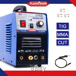 Ct418 110/220 V Soudeur + Plasma Cutter 3in1 Machine De Soudure + Consommables