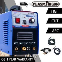 Ct418 3 En 1 Coupe-plasma Tig/mma Soudage Machine De Soudage 1 À 8mm 110/220v+csa