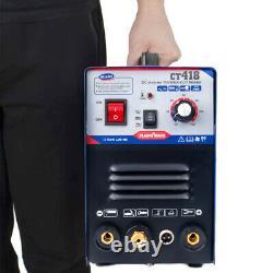 Ct418 3 In 1 Tig Soudeur & Plasma Cutting Machine Soudage 1-18mm 40a Cut 180a Uk