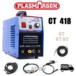 Ct418 3-en-1 Coupeur De Plasma D'air Fonctionnel Tig/mma Soudeur Coupe La Machine De Soudure