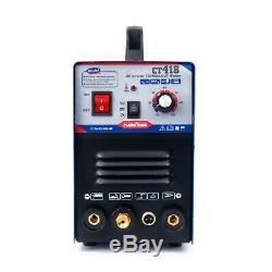 Ct418 Tig / Mma Welder Plasma Cutter 3in1 Machine De Soudure Avec Accessoires 240v