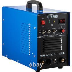 Ct520d 3in1 Machine De Soudage Digital Tig/mma/plasma Cutter Soudeur & Accessoires